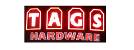 Logo for TAGS Hardware - Former Mystery Shopping Client of Customer Perpsectives